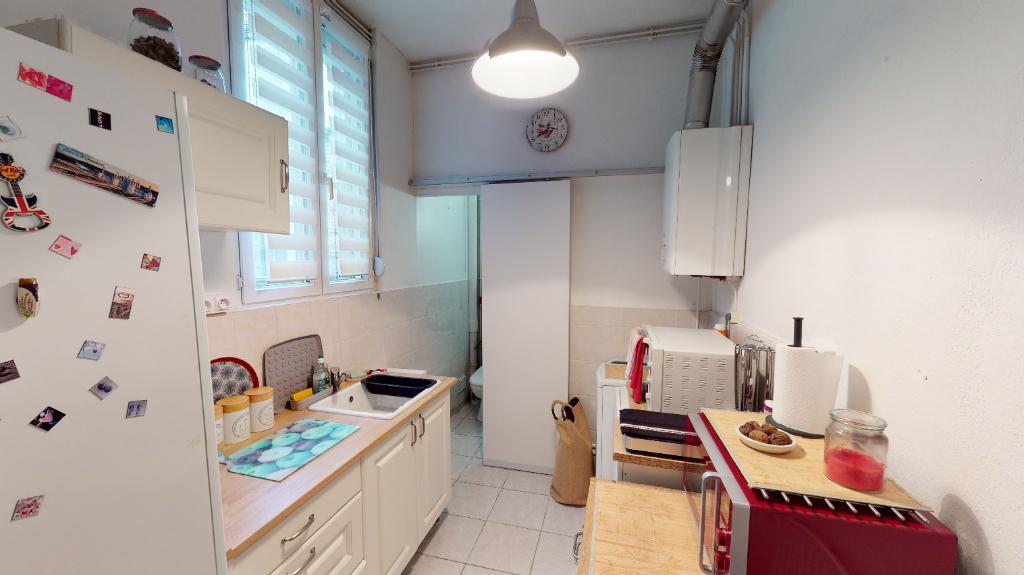 Appartement de 40m2 - 2 pièces - Reims - Quartier Avenue De Laon