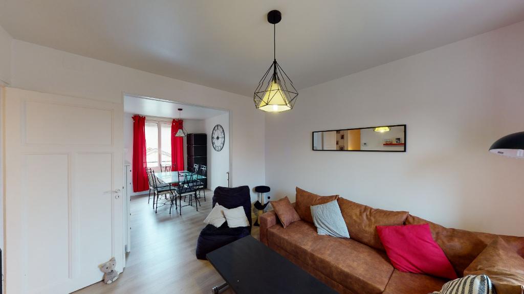 Appartement de 47m2 - 3 pièces - Reims - Quartier Tinqueux - Boulevard des Belges